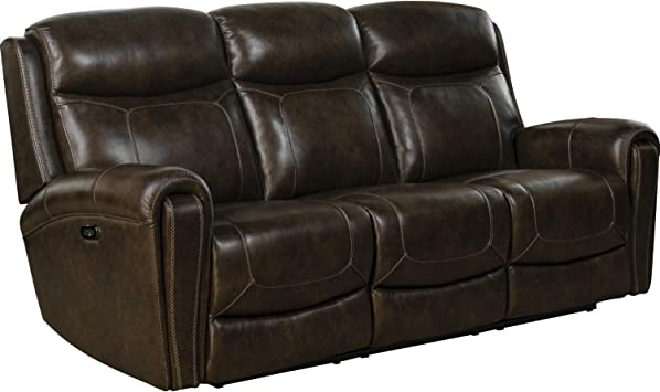 Amazon.com: BarcaLounger Malibu Power Reclining Sofa in Tri ...