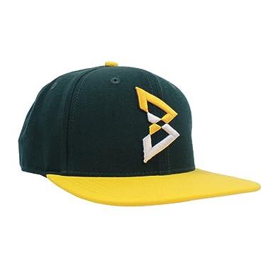 buy online 61360 a580d Beast Mode B Logo Snapback (Green Yellow)