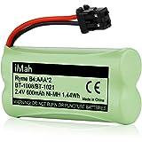 1-Pack iMah Ryme B4 BT1021 Battery for Uniden BT-1021 BBTG0798001 BT-1016 BT-1025 BT-1008 Cordless Handset Telephone