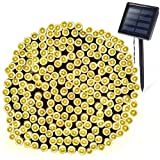 OxyLED Solar String Lights Outdoor, 72ft 200 LED Solar Led Fairy String Light, Solar Powered Decoration Lights for Garden, Patio, Yard, Home, Wedding, Party, Christmas (200 LEDs)