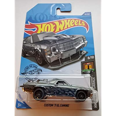 Hot Wheels 2020 Hw Dream Garage Custom '71 El Camino, 40/250 Gray: Toys & Games