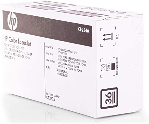Original Resttonerbehälter Hp Ce254a Premium Tonerbehälter Bürobedarf Schreibwaren