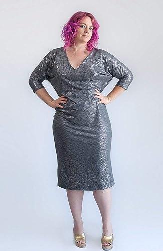 Amazon.com: Let The Good Soul Sparkle! Silver V-Neck Dolman ...