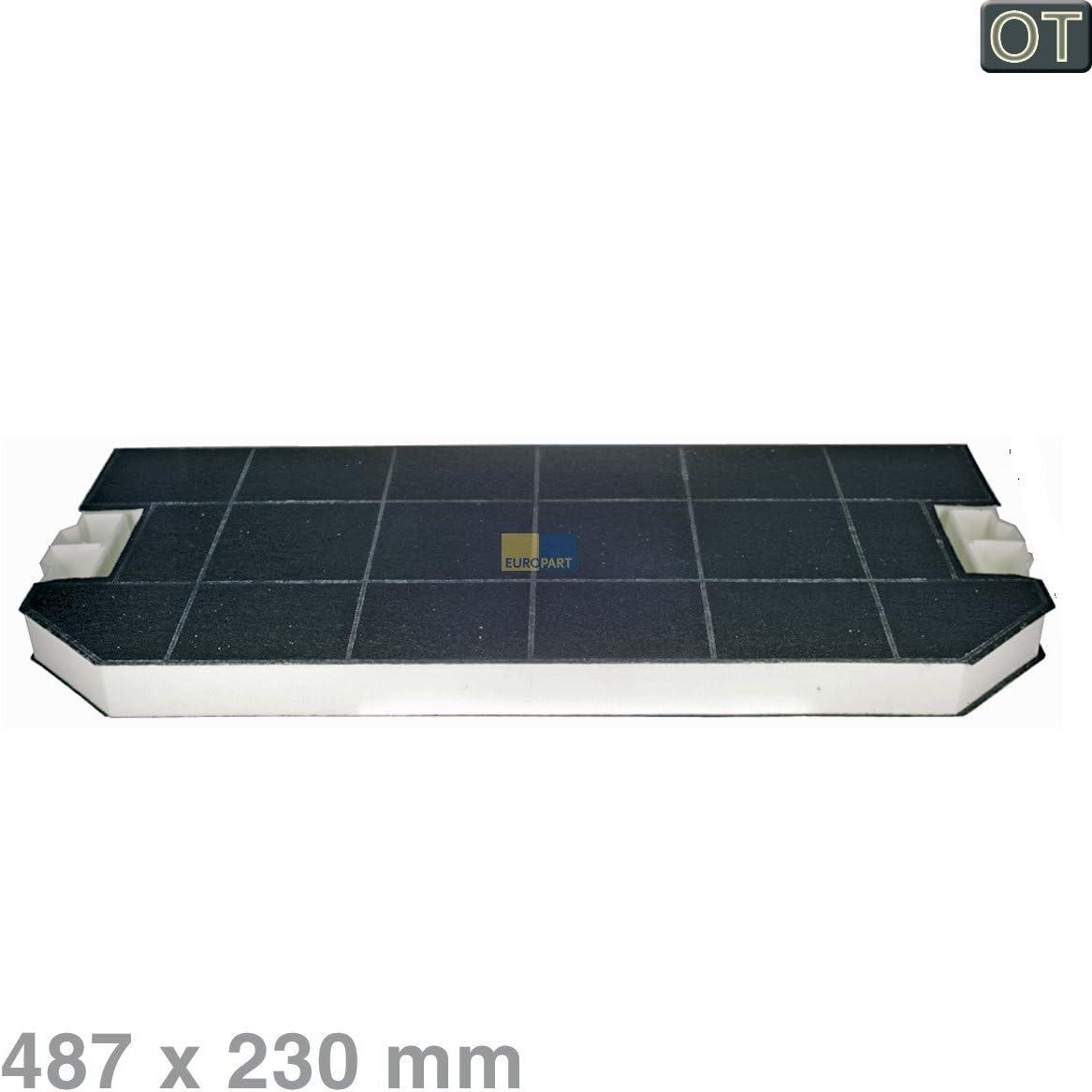 Bosch Siemens 460367 00460367 537310 - Filtro de carbón activo para campana extractora de humos (rectangular, 487 x 230 mm): Amazon.es: Hogar