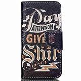 Acer Jade Z Case, Chinstyle Acer Liquid Jade Z Case Wallet Case Magnetic Closure Fashion Letter Pattern Flip Cover