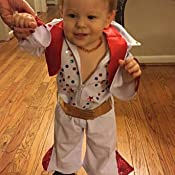 Amazon.com: Unique Infant Baby Elvis Costume, 12-18 Months
