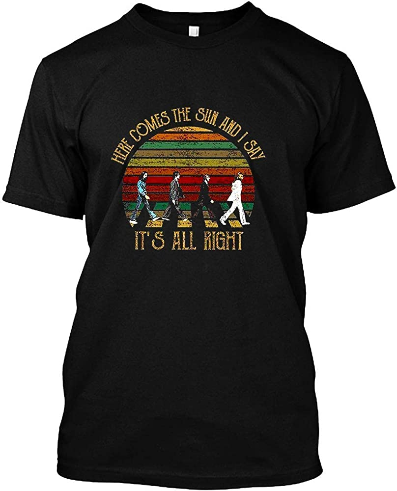 Vintage Here Comes The Sun And I Say It S All Right The Beatles Unisex T Shirt Gift For Me