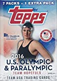 2016 Topps US Olympics Factory Sealed 16 Box CASE