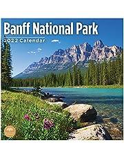 2022 Banff National Park Wall Calendar by Bright Day, 12 x 12 Inch, Beautiful Destination
