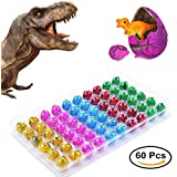 Novelty Dinosaur Toys,Dinosaur Eggs That Hatch and Grow like Magic, Easter Toys for Party Supplies and Favors by Liferry(60 Pcs)