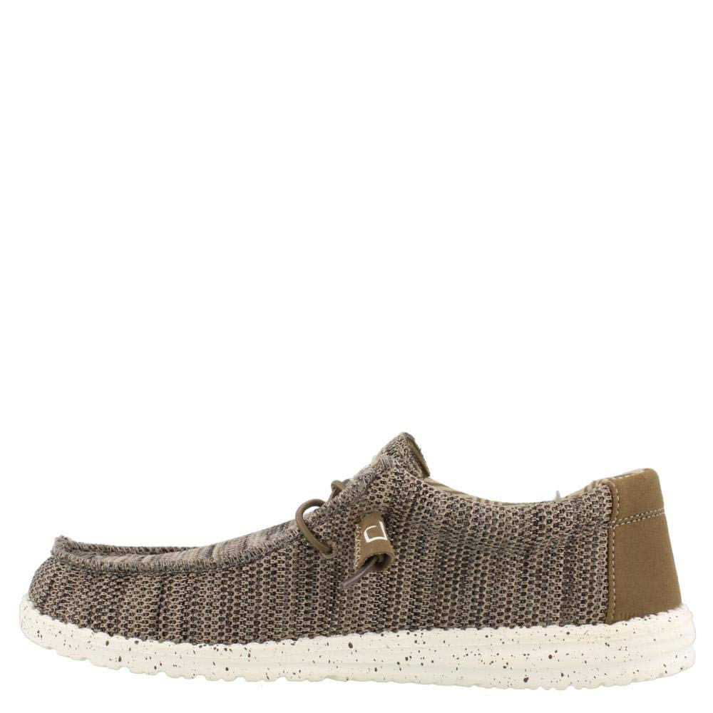 Dude Shoes Mens Wally Classic Beige