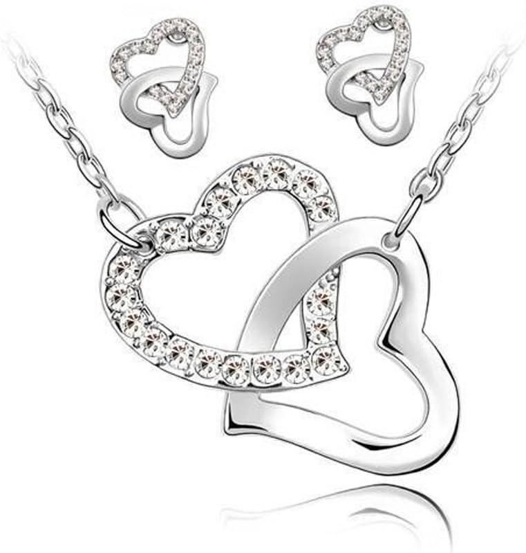 LINSUNG Dor Collier damour en forme de coeur peut /être ouvert dans une petite photo femme creuse