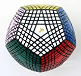 Mf8 Petaminx Cube 9 Layered Megaminx Dodecahedron Puzzle, Sticker Was Finish