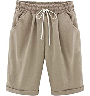 Wofupowga Men Mid Waist Drawstring Fashion Print Beach Striped Short Pants