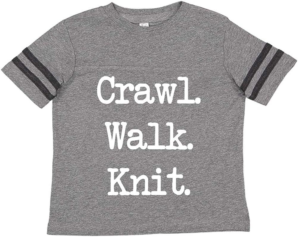 Walk - Toddler//Kids Sporty T-Shirt Mashed Clothing Crawl Knit