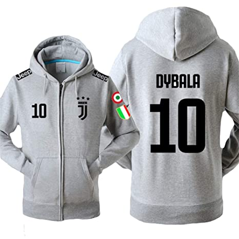 Felpa Juventus No.7C Ronaldo Soccer ClubRound Neck Manica Lunga da Calcio per Uomo e Donna Ragazzi