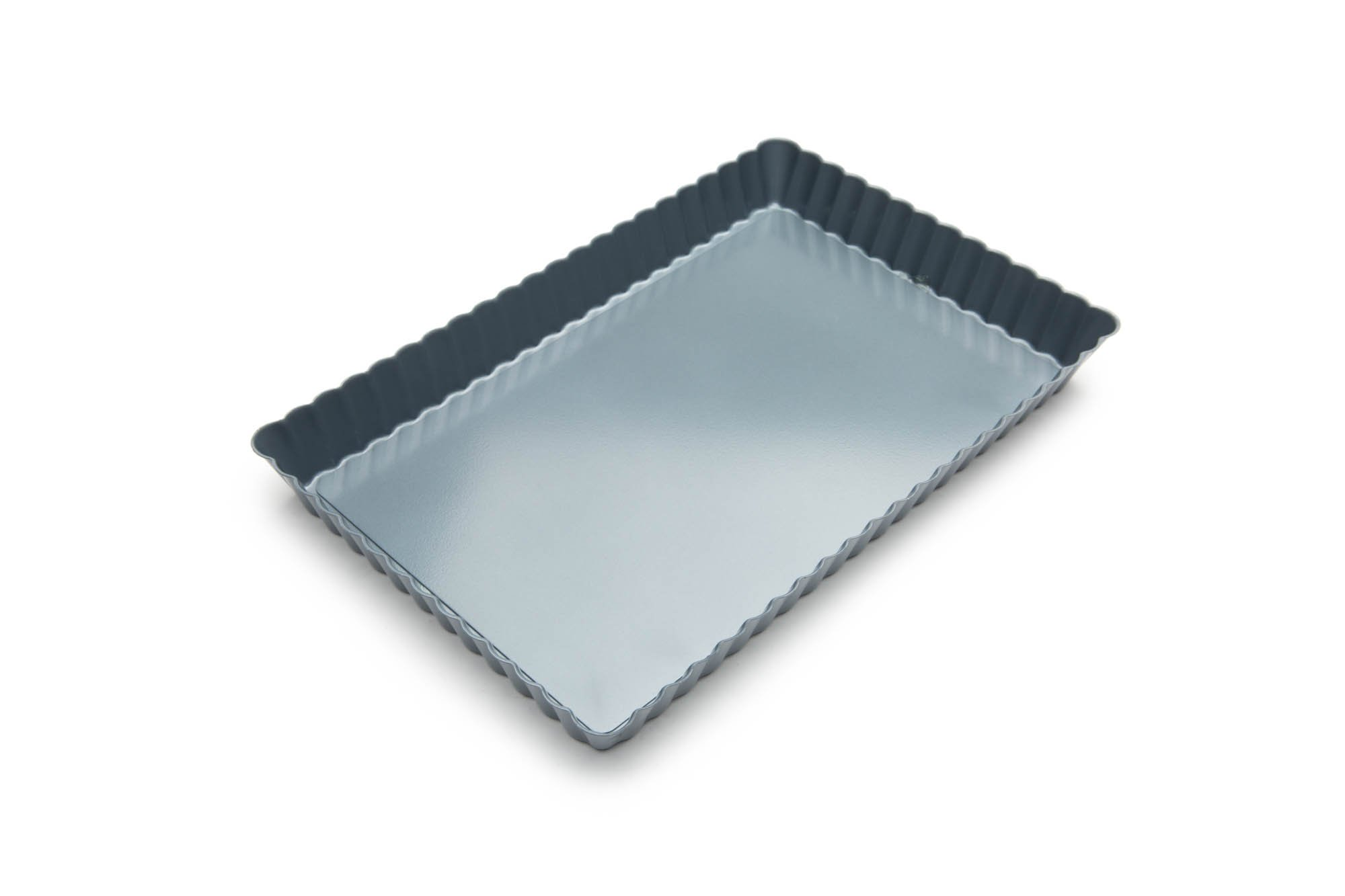 Fox Run 44505 Rectangular Loose Bottom Tart/Quiche Pan, Preferred Non-Stick, 11-Inch