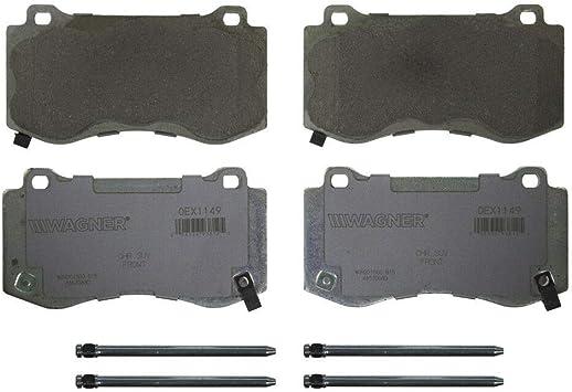 Disc Brake Pad Set-OEX Disc Brake Pad Front Wagner OEX1149