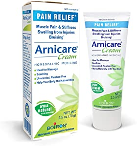 Boiron Arnicare Cream Topical Pain Relief Cream, 2.5 Ounce (Pack of 1)