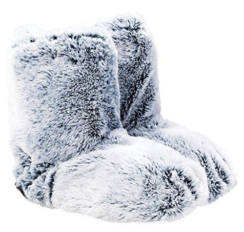 upper-canada-soap-cozy-queen-faux-fur-warming-slippers-gray