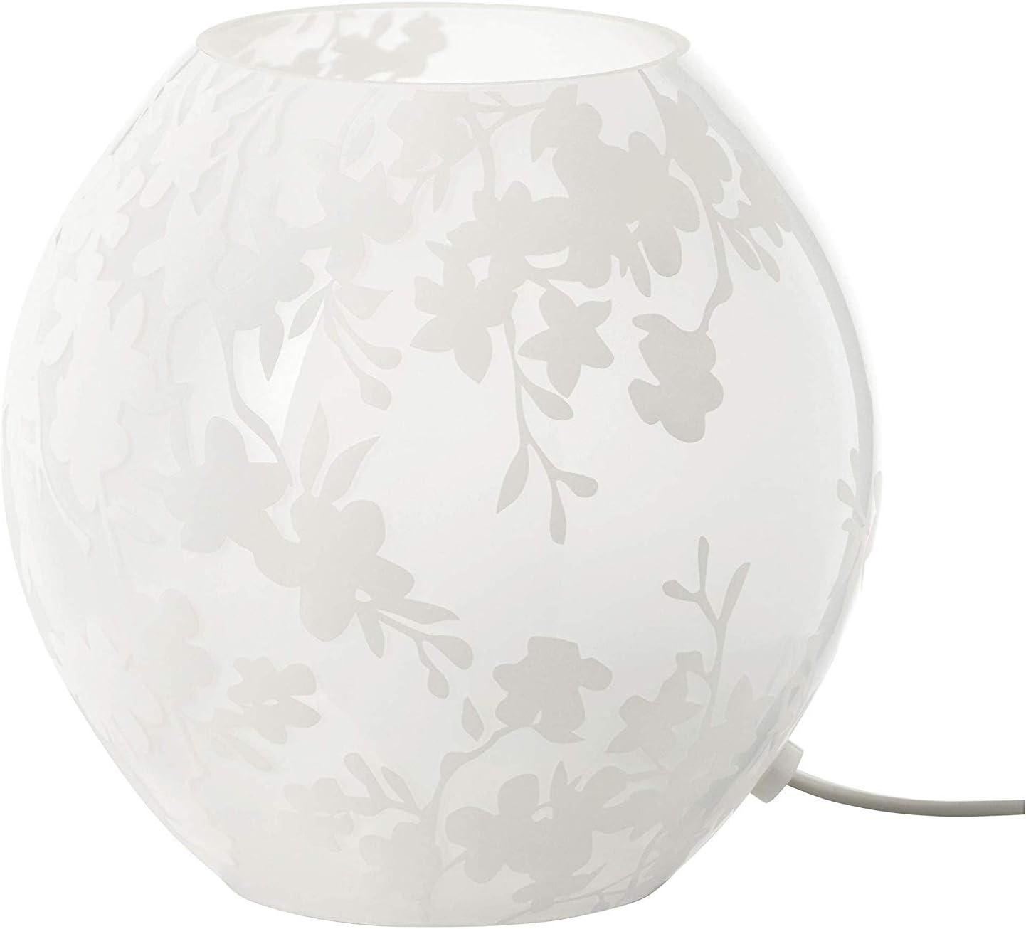 Ikea VATE Table lamp, white 26 cm