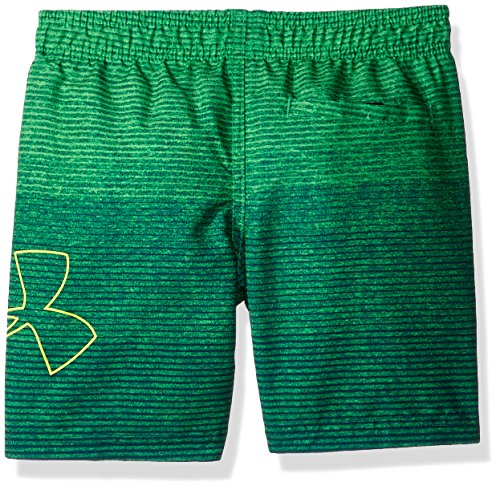 Under Armour Toddler Boys' Volley Fashion Swim Short, Green/Blue, 4T by Under Armour (Image #2)