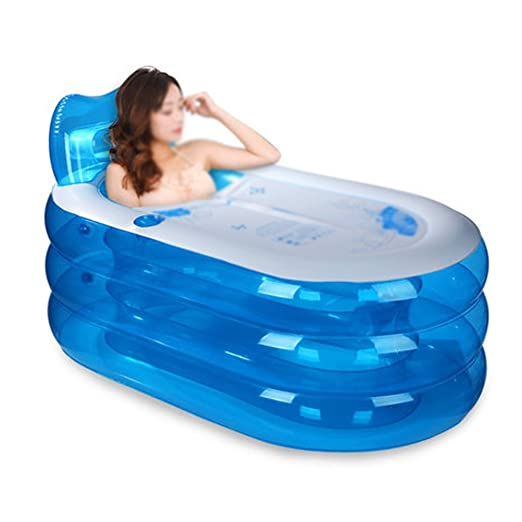 Bathtub LUYIASI- Bañera Hinchable Engrosamiento Bañera para ...