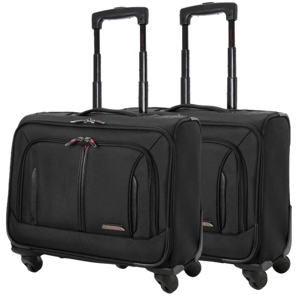 "3a0a3548c8 Aerolite 18"" 4 Wheeled Laptop Bag Executive Business Bag Mobile Office Cabin  Luggage Suitcase –"