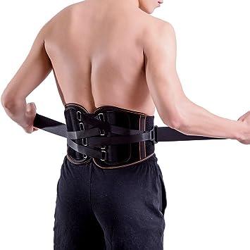 Bas du dos pour le soulagement de la douleur – Ceinture de soutien lombaire  pour homme 44e287831a2