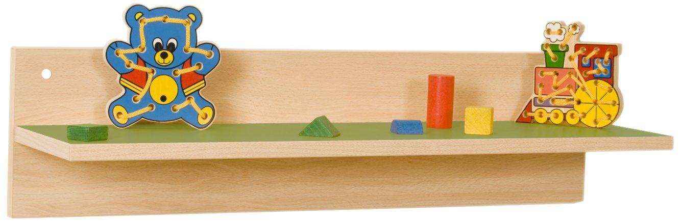 Mobeduc Book Shelf 800, Legno, Verde Scuro, 80x 22x 22cm 80x 22x 22cm Mobeduc_600622H21