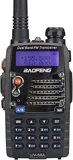 BaoFeng UV5RA two-way radios - Walkie-Talkie (importado): Amazon.es: Electrónica