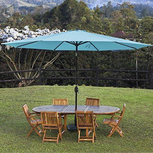 Sundale Outdoor 11 ft Patio Umbrella Table Market Umbrella