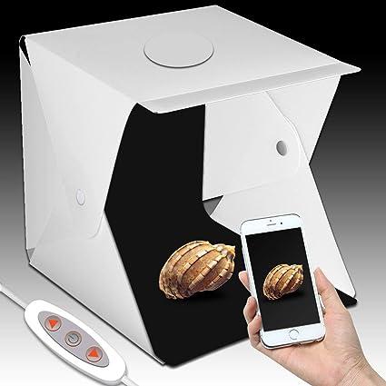 Estudio fotográfico portátil, kit de caja de luz para mini carpa ...