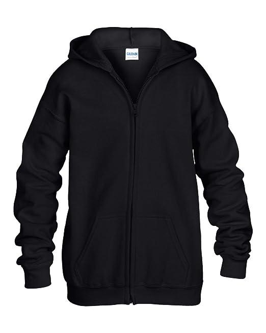 GILDAN - Sudadera con capucha - para mujer Negro negro