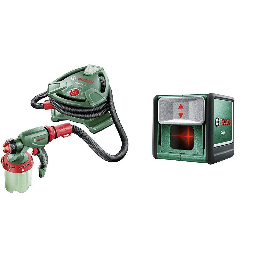 Bosch elektrisches Farbsprü hsystem PFS 5000 E (fü r Lack, Lasur und Wandfarbe, im Karton) 0603207200