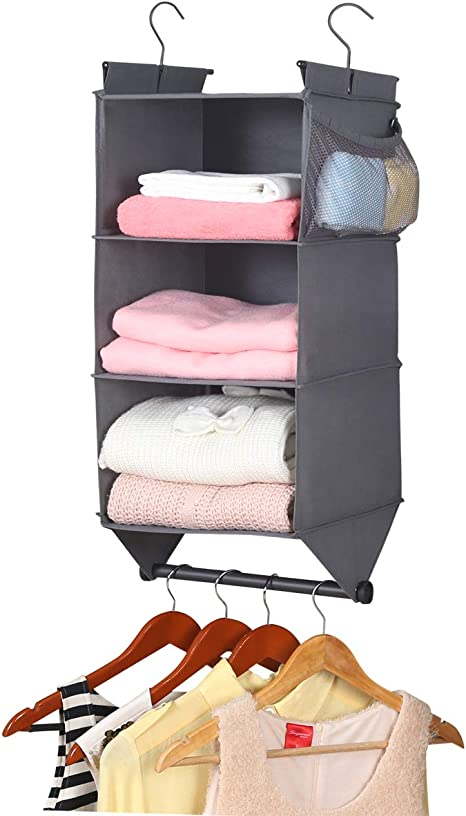 Closet Organizer Rod Hanger Handbag Storage Hanging Bag Holder Sturdy Rack