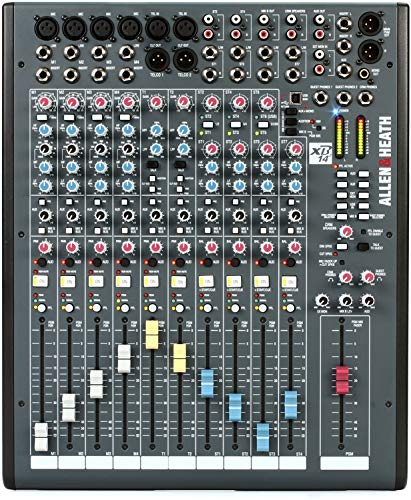 Allen & Heath XB-14 2 Compact Radio Broadcast Mixer