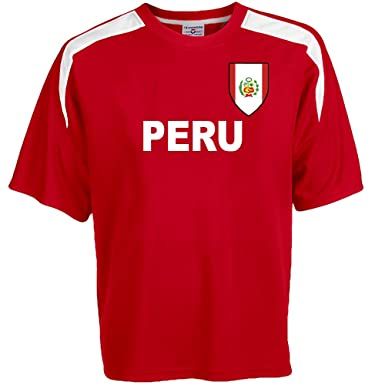 2c1dbe057 Amazon.com  Custom Peru Soccer Jersey Personalized with Your Names ...