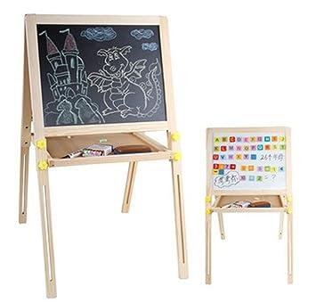 Madera extraíble mesa de dibujo grande de pizarra tableta ...