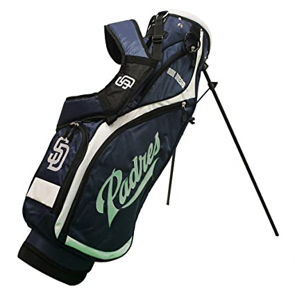 Image Unavailable. Image not available for. Color  Team Golf 97227 San  Diego Padres MLB Nassau Golf Stand Bag 915716585