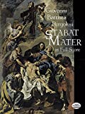 img - for Stabat Mater in Full Score (Dover Music Scores) book / textbook / text book