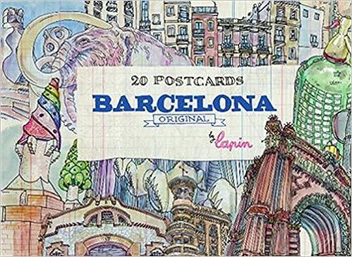 Barcelona - Original: 20 Postcards