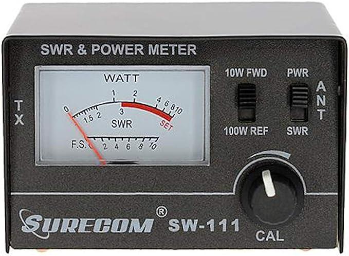 Mcbazel Surecom SW-114 SWR//RF//Field Strength Test Meter