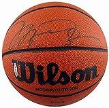 Michael Jordan Autographed Wilson Basketball Chicago Bulls UDA #BAD00479