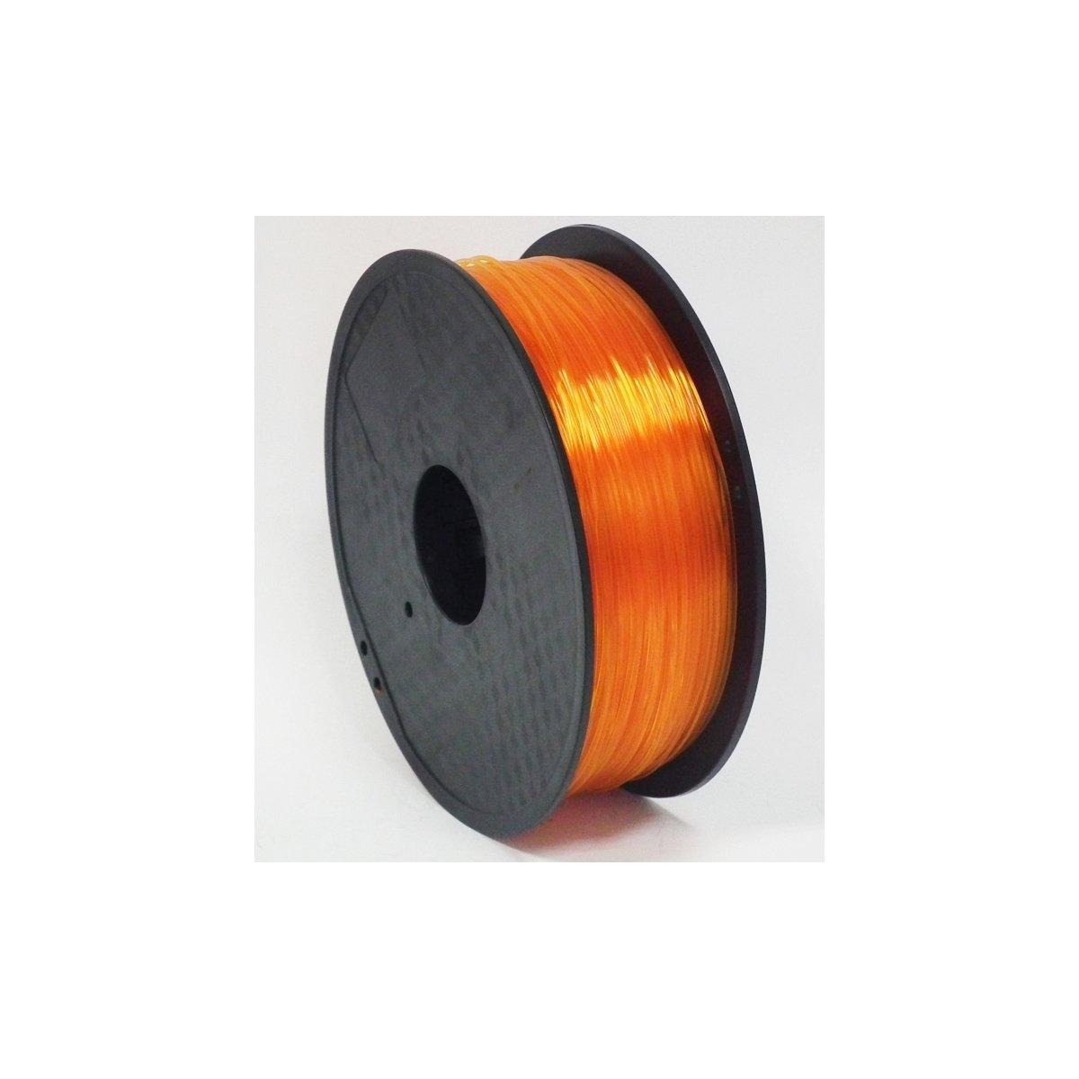 Filamento Galaxy 3d pla transparente naranja - ø1.75 mm - 1 kg ...