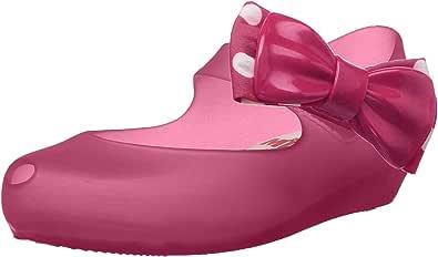 mini melissa Girls' Mini Ultragirl + Minnie Ballet Flat