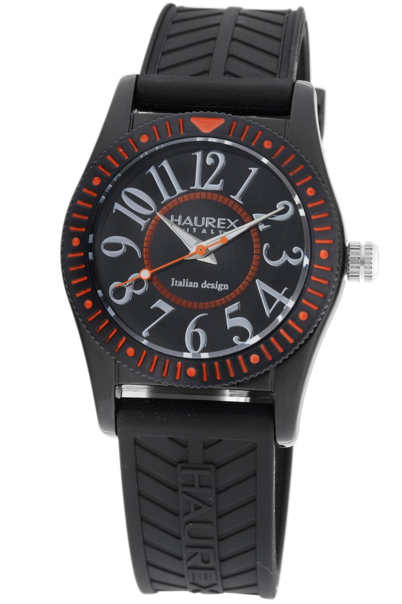 Haurex Italy Kids' PN331UNO Promise B PC Black Dial Watch