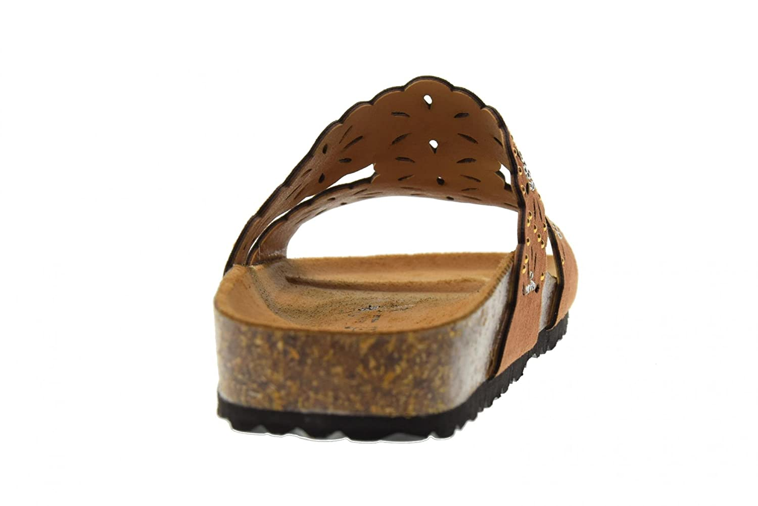 GOLDSTAR Shoes Woman Sandals Slippers 1859MB Cuoio