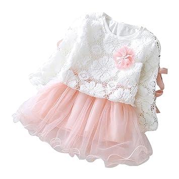 Amazon.com: Vestido Sinfu para otoño, para bebé, niñas ...