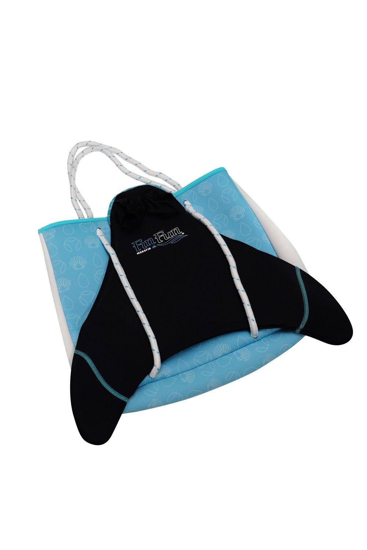 Fin Fun Mermaid Blue Neoprene Tote Bag- Monofin NOT included by Fin Fun (Image #3)